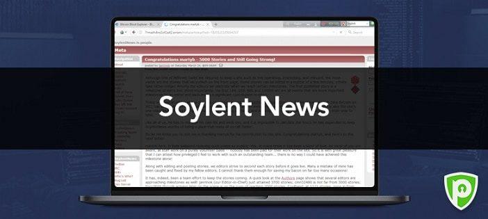 Soylent-news-暗網網站