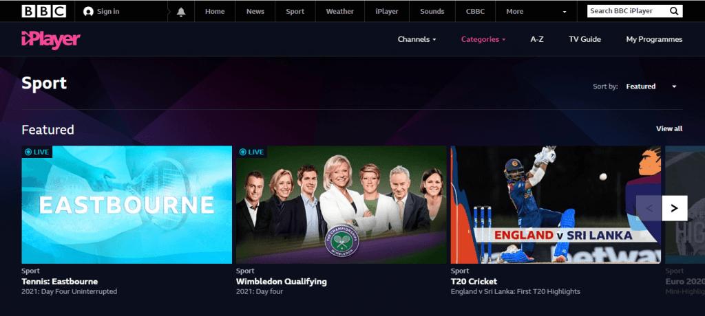 在BBC觀看奧林匹克