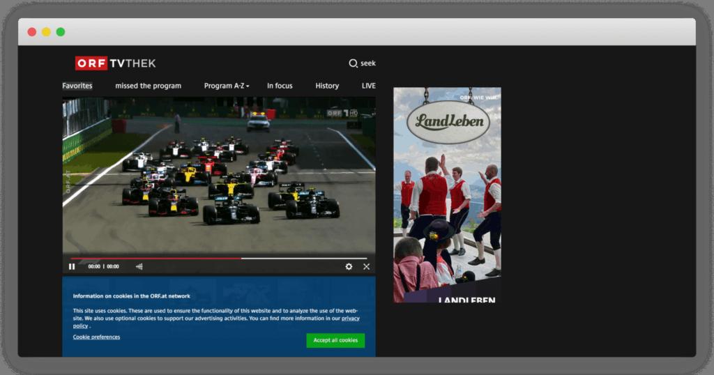 ORF F1直播